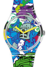 "SWATCH NEW GENT SPECIAL ""WALL PAINT"" (SUOW133) NEUE KOLLEKTION 2016"