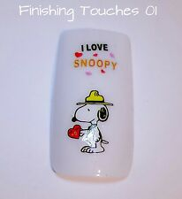 Nail Art transferencia-Disney calcomanía # 382 sy456 Snoopy Charlie Brown Dog Etiqueta Engomada