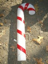 """Vintage 40"""" Blow Mold Christmas Candy Cane Lighted"""