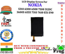 LCD Display Screen For NOKIA 5310 6300 6500 7500 3120C 3600S 6555 7310 E51 E90