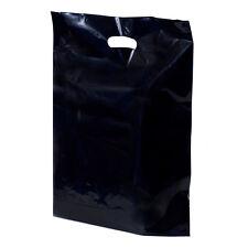 500 Quantity Plastic Die Cut Handle Merchandise Bags   FREE US ship  15x18x3