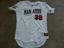 2016 Brevard County Manatees Game Used Jersey #39 Jorge Ortega Milwaukee Brewers