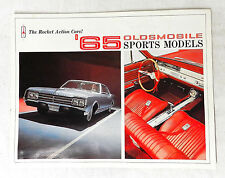 ORIGINAL 1965  OLDSMOBILE SPORTS MODELS 442  GM SALES BROCHURE