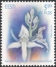Estonia 2010 Orchids/Flowers/Plants/Nature/Butterfly Orchid 1v (ee1058)