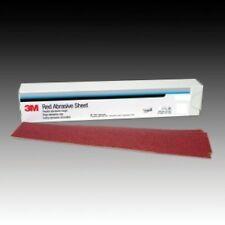 3M 01680 Red Abrasive Stikit Air File Sheet, 40 Grit (25/Bx) 3M-1680