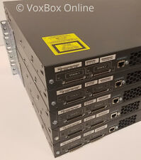 CISCO WS-C3750G-24PS-S 24 Port Switch with (24) 10/100/1000 Gigabit POE