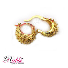Small &Cute Bentex Gold Plated Basket Design Earrings