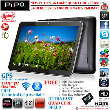 "P9 PIPO M9 3G 32GB GPS 10,1 ""Retina rk3288 Quad Core 4.4 telefono con Android Tablet PC"