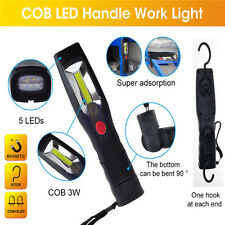 LED Portable Hand Held Work Lamp Cordless Work Light COB Rechargeable 210LM 3W