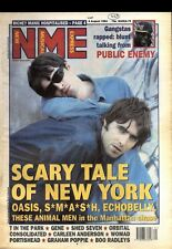 NEWSPAPER CLIPPING/ADVERT 6/8/94PGN01 NME COVER PAGE, OASIS NOEL & LIAM GALLAGHE