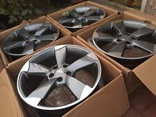 "Rotor Alloys Grey 19"" TTRS fits Audi VW and many others"