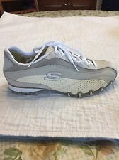 Skechers Bikers Women US 7.5 Tan/Natural Sneakers NIB