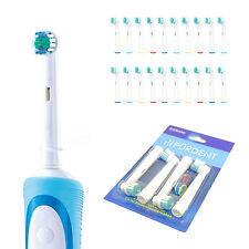 20 pc Electric Tooth Brush Heads Replacement Braun Oral B Soft Bristle PRECISION