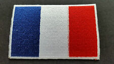 NATIONAL COUNTRY FLAG SEW ON / IRON ON PATCH:- FRANCE