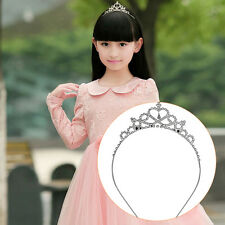 Girl Princess Hairband Child Party Bridal Crown Headband Crystal Diamond Tiara M