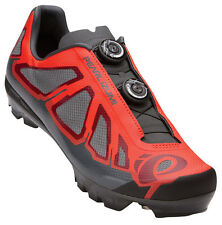Pearl Izumi 2016 X-Project 1.0 MTB Carbon Cycling Shoes Mandarin Red/Black 43
