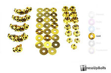Dress Up Bolts for 02-06 RSX & RSX Type-S Gold Ti Titanium Engine Bay Kit