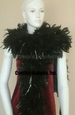 """180g 80""""long, 11""""wide Chandelle Feather boas, largest on eBay, 20+ Color/Pattern"""