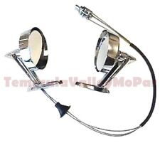 Remote Control Mirror Set for 1960-66 Plymouth - Dodge - DeSoto - Chrysler - Imp
