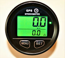 GPS Speedometer 52mm gauge odometer battery voltage digital dash 10V to 24V