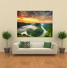 SUNSET Amazon FIUME GIGANTE muro poster art print A0126