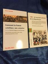 """DUO=1885:le tournant colonial de la République + Comment la France """"civilise""""..."""