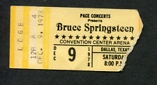 Original Bruce Springsteen 1978 Concert Ticket Stub Darkness On The Edge of Town