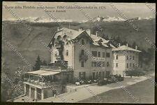 Bolzano Passo della Mendola Hotel cartolina ABA7-151 SZF
