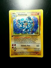 1st edition machamp holocard