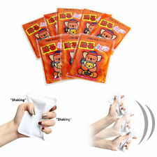 8Pcs Shaking Hot Pack Hand Foot Body Heating Pad Pocket Carry Portable Warmer ZE