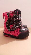 Marvel Toddlers Amazing SpiderMan Winter Snow Boots US Size 5  Temp Rated -10*F