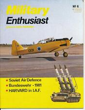 Military Enthusiast N°6 Born in Battle; Soviet Air Defence; BW; IAF AT-6 Harvard