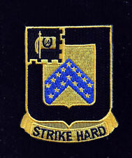 16TH ARMORED CAVALRY REGIMENT HAT PATCH US ARMY VETERAN GIFT STRIKE HARD PIN UP