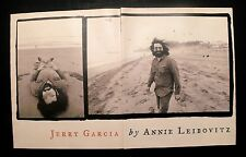 1995 Jerry Garcia Grateful Dead Vintage~Annie Leibovitz B&W Magazine Art Photos