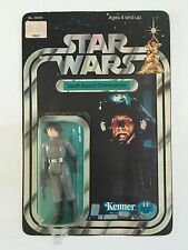 Star Wars 1978 ANH 12 Back-B Death Squad Commander MOC Kenner Unpunched