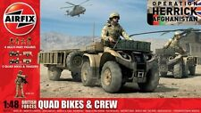 Airfix 1/48 British Forces Quad Bikes and Crew # 04701