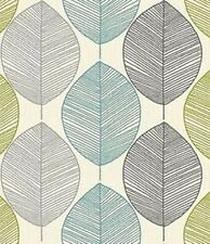 Hoja retro Arthouse Wallpaper motivo Verde Teal Vintage 408207 característica pared