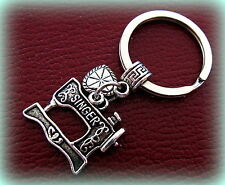 Singer Sewing Machine KEYCHAIN Jewelry - Quilter FEATHERWEIGHT style Jewelry