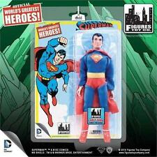 World's Greatest Heroes SUPERMAN Early Superman Series 1 FIGURE Retro  Mego