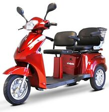 E-Wheels EW-66 Two Passenger Recreational Mobility Scooter + Accessory Bundle!