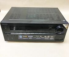 AS IS Onkyo 1190W 7.2 Channel Network-Ready Home Theater Receiver Black TX-NR646