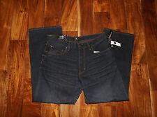 NWT Mens GAP Loose Fit Dark Wash Jeans Size 40 W 32 L $50