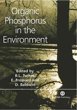 Organic Phosphorus in the Environment (Cabi)-ExLibrary