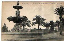 CPA 83 HYERES  la fontaine monumentale de l'avenue godillot