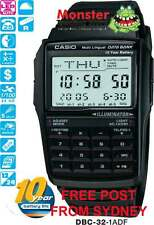 AUSSIE SELER CASIO CALCULATOR TELEMEMO DBC-32 DBC32 DBC-32-1 12-MONTH WARRANTY