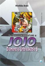 LE BIZZARRE AVVENTURE DI JOJO - DIAMOND IS UNBREAKABLE 6 DI 12 STAR COMICS NUOVO
