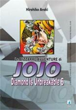 LE BIZZARRE AVVENTURE DI JOJO - DIAMOND IS UNBREAKABLE 6 DI 12 STAR COMICS NUOVO