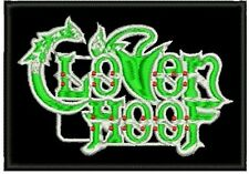 CLOVEN HOOF HEAVY METAL PATCH EMBROIDERED NEW