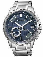 CITIZEN MENS STAINLESS STEEL ECO-DRIVE SATELLITE WAVE WATCH CC3000-54L