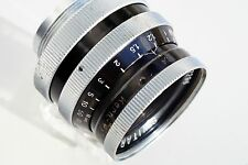 Kern Paillard Switar 1.4/25 C-mount, smooth focus, clean, healthy tested Nikon 1
